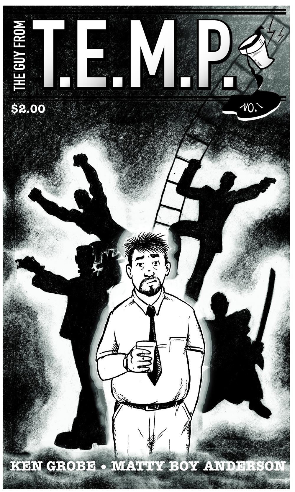 T.E.M.P. Front cover