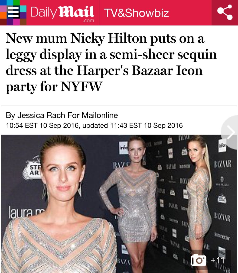 DAILY MAIL NICKY HILTON