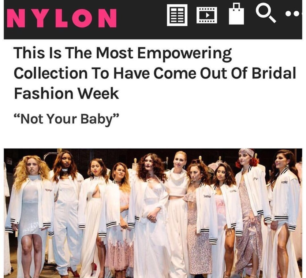 NYLON BRIDAL FASHION WEEK