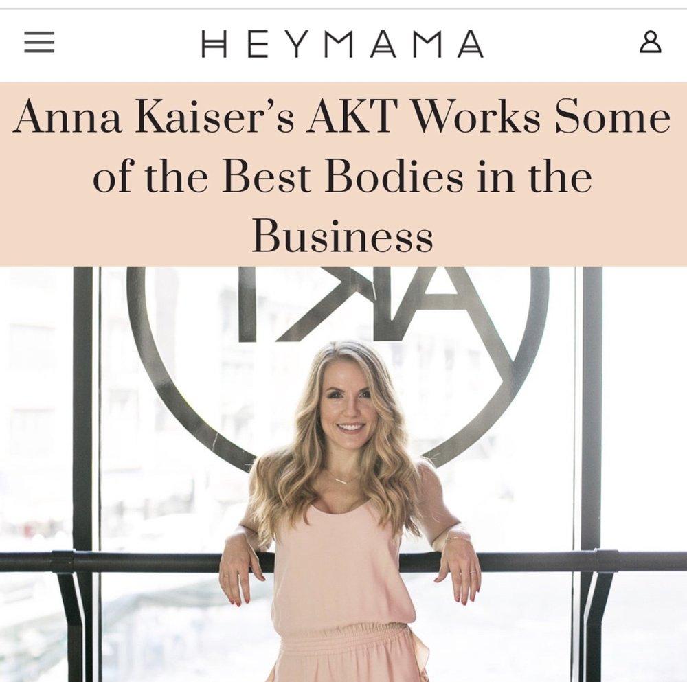 HEY MAMA ANNA KAISER
