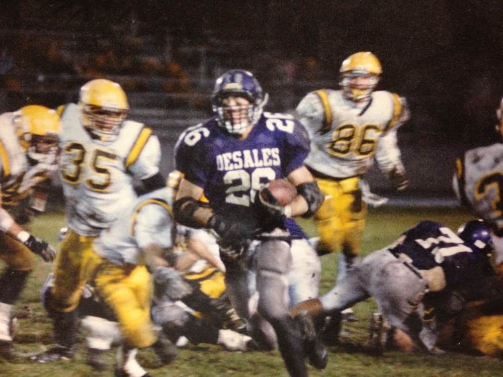 Senior Running Back Matt Stewart (26)