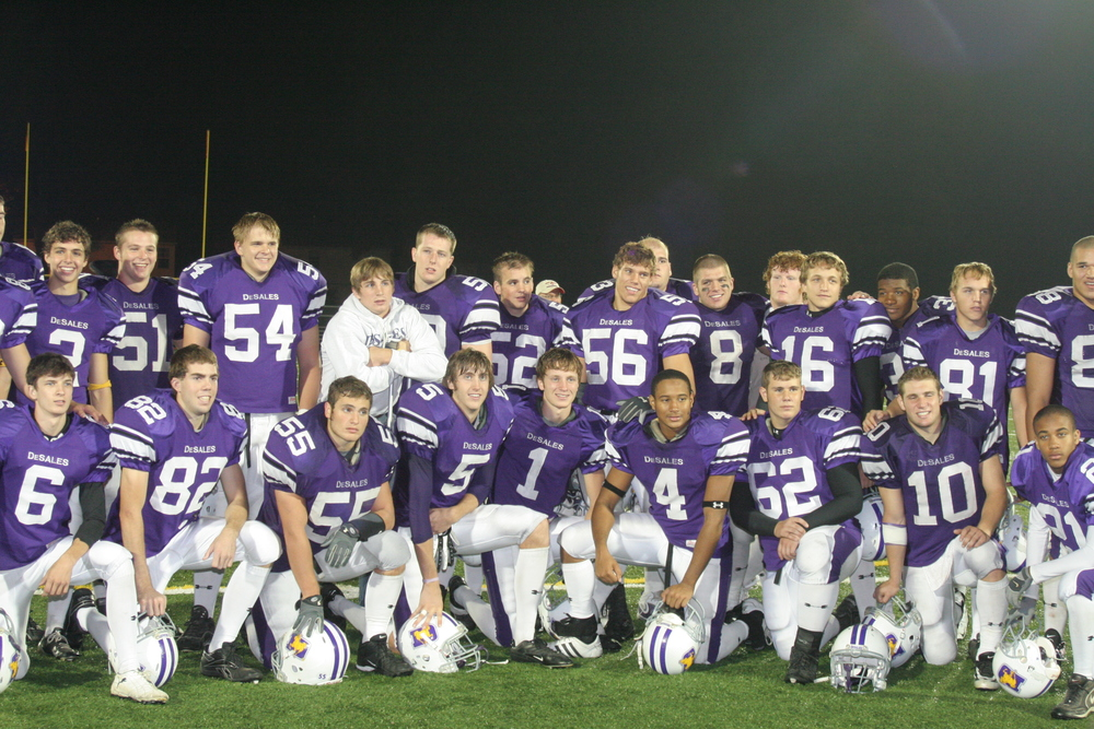 Some of the Class of 2006 Football Stallions