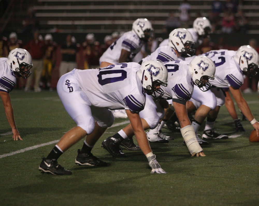 First Team All-Ohio Offensive Lineman Alex Vance (60)
