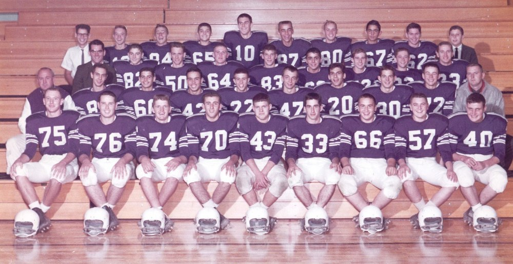 St. Francis DeSales' first Varsity Football Team (1962)