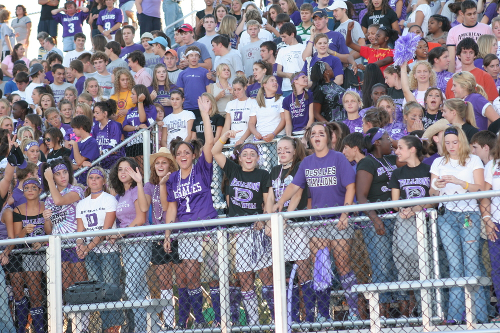Stallion student section