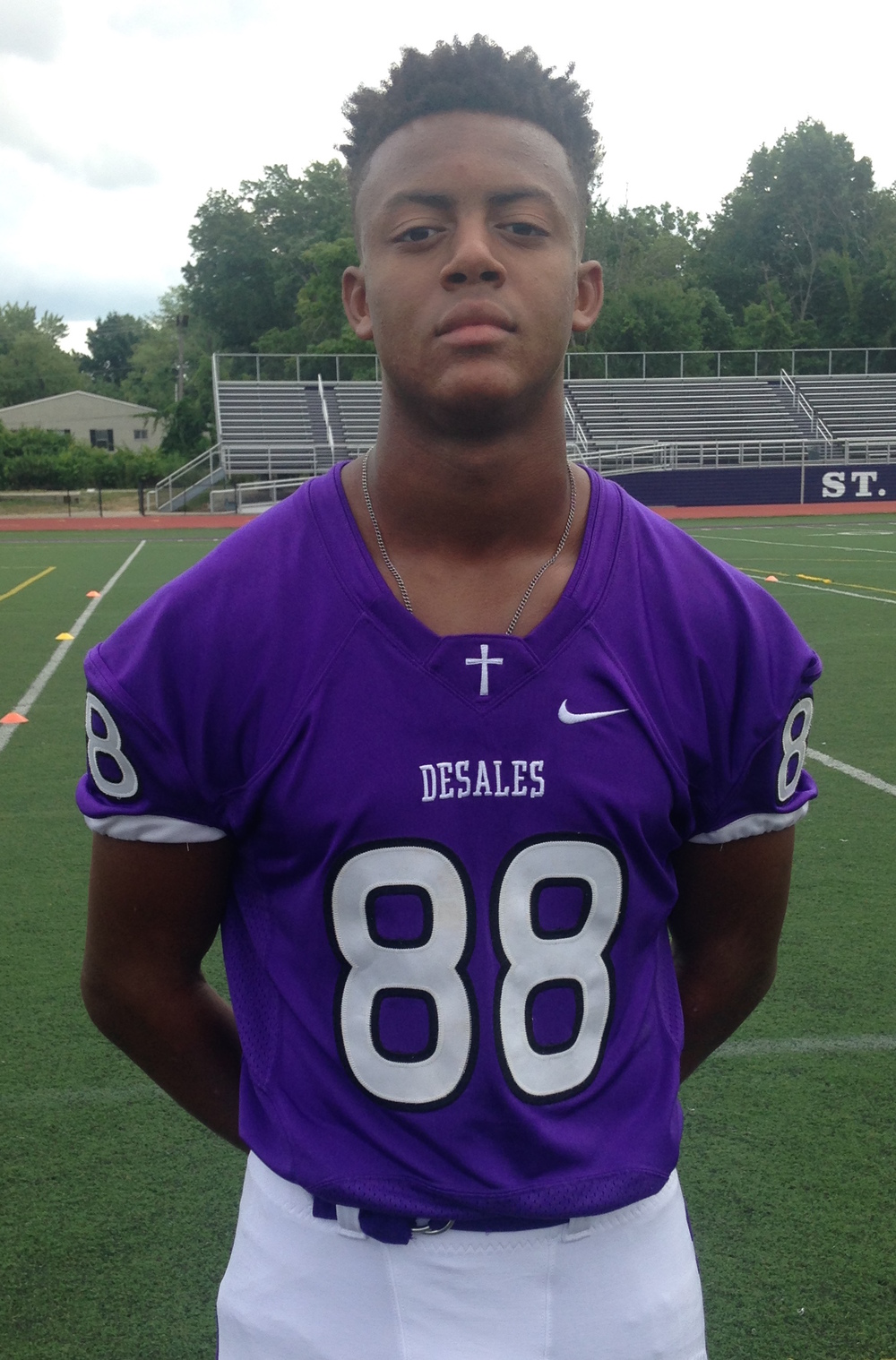 #88 Dontay Hunter WR/DL