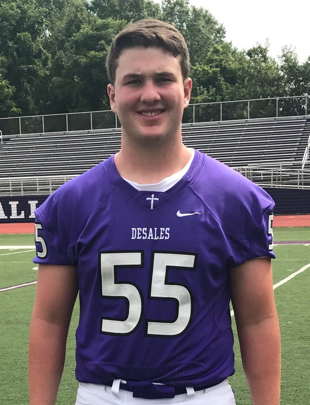 #55  Jonathan Mager  OL/DL