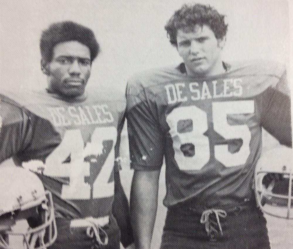 1974 Co-Captains  #42 Brian Hairston, #85 Joe Rodenfels