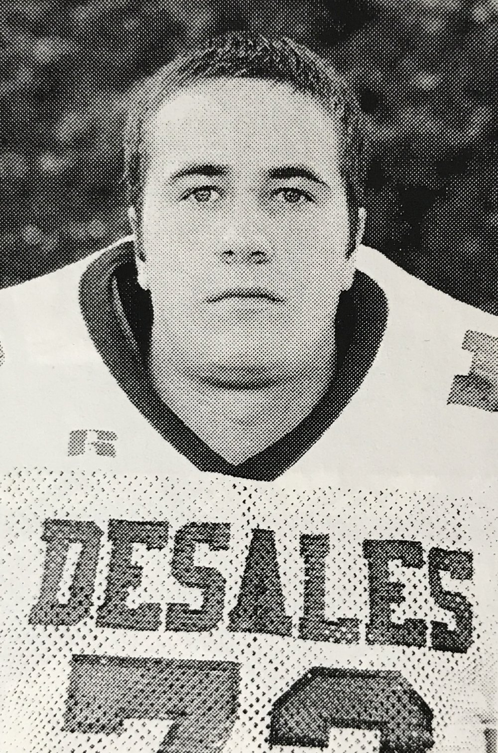 Dan Koons '99 Starting Lineman on the 1998 State Championship Team