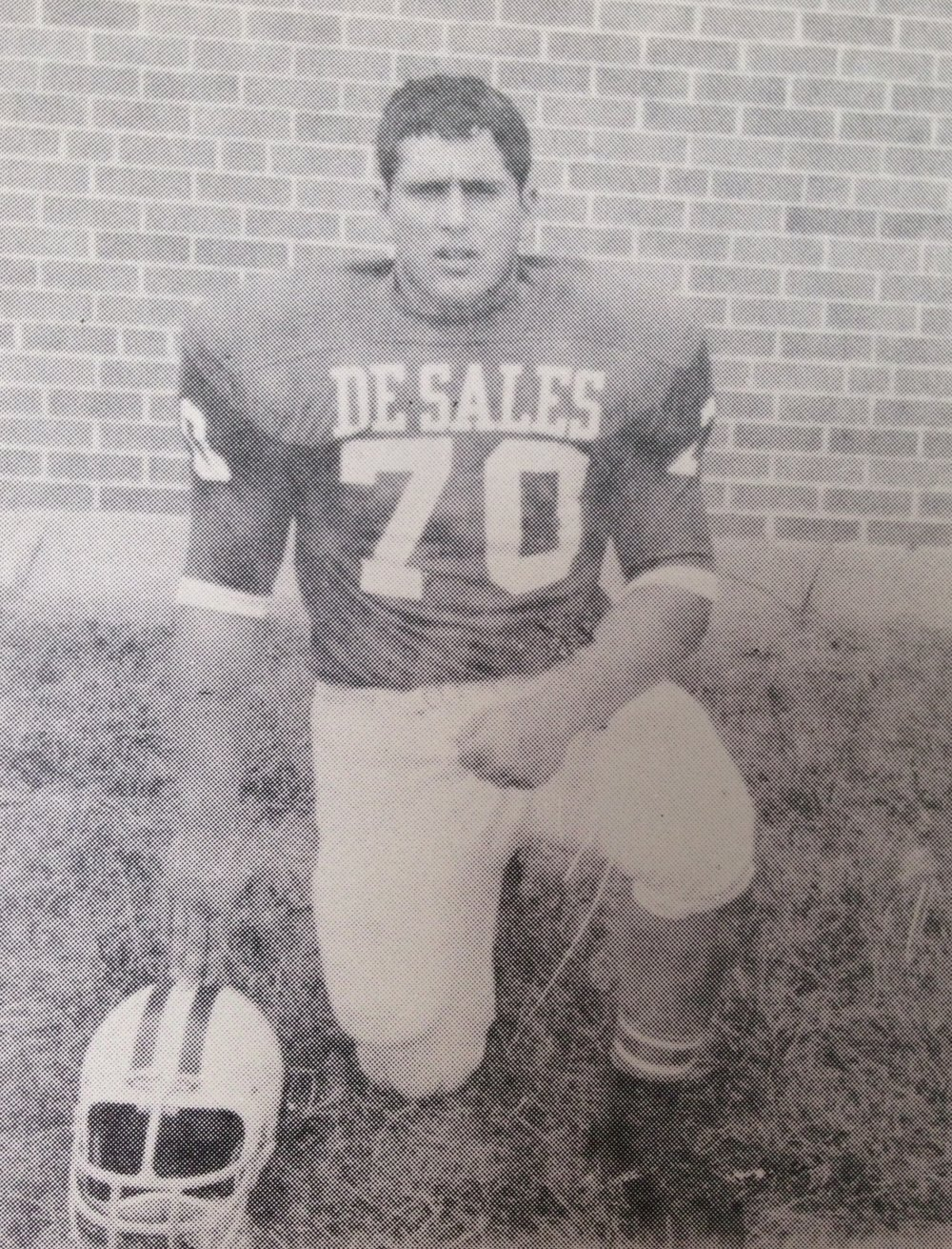 Tony Pusateri '69  Starting offensive lineman on the 1968 CCL Championship Teams