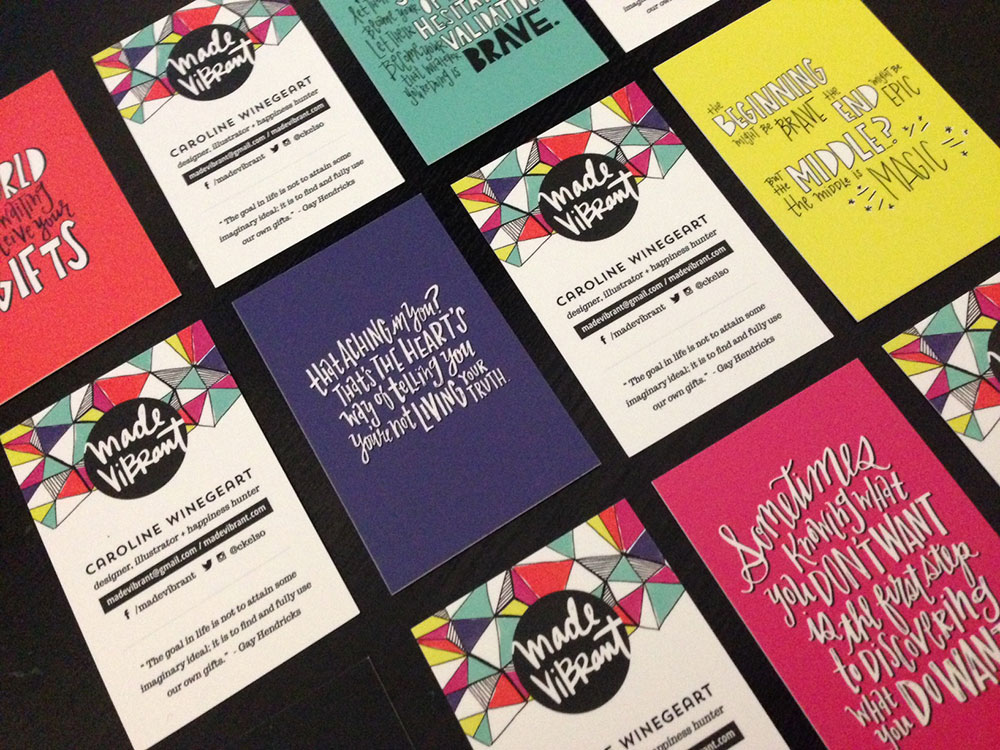 My top 3 things to include on your business cards made vibrant colourmoves