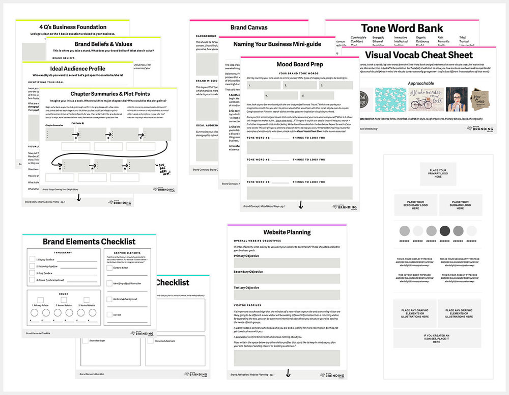 How To Build And Sell Your First ECourse Made Vibrant – Promotion Points Worksheet