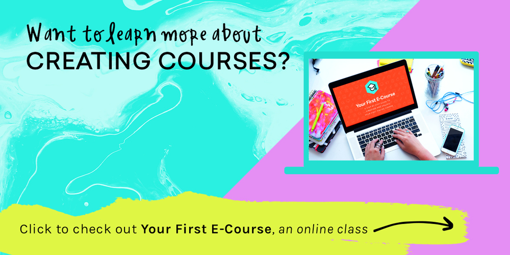 How to build and sell your first e course made vibrant related posts fandeluxe Choice Image