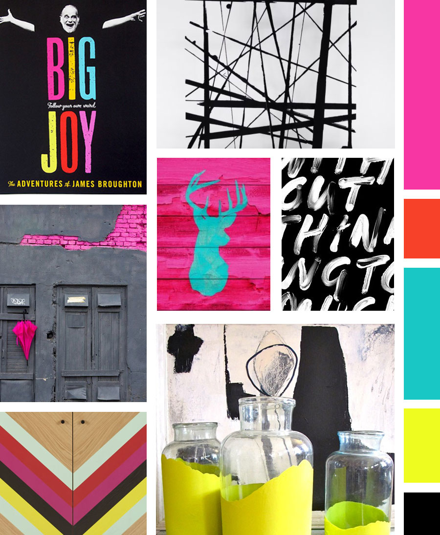 Visual Vocab 02 A Bold Urban Graphic Mood Board Made