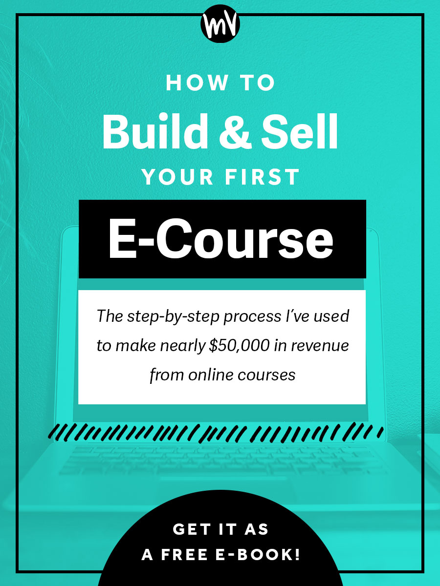 How to build and sell your first e course made vibrant since making this change ive been able to shift my business in a way that i feel is more authentic to who i am i get to help a lot more people fandeluxe Choice Image
