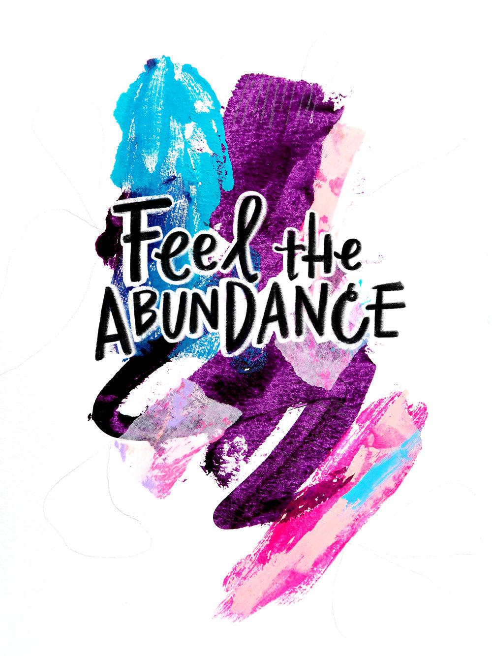 8/18/16: Abundance