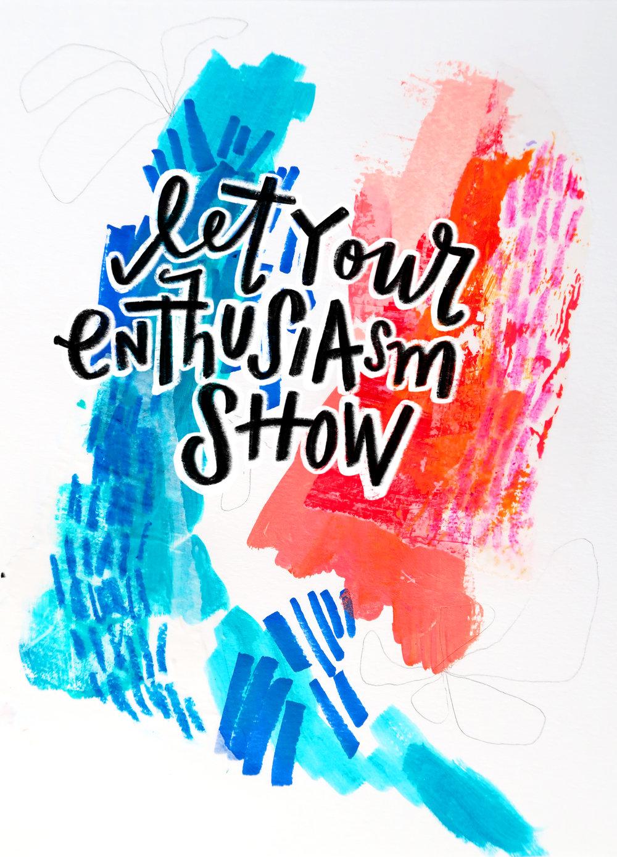 8/17/16: Enthusiasm