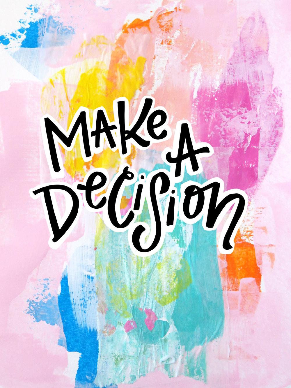 8/6/16: Decision