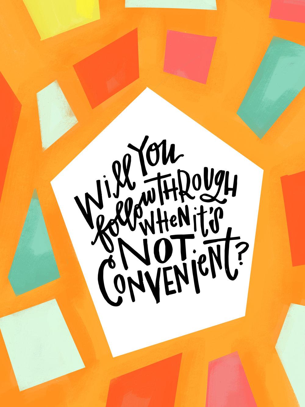 5/29/16: Convenient