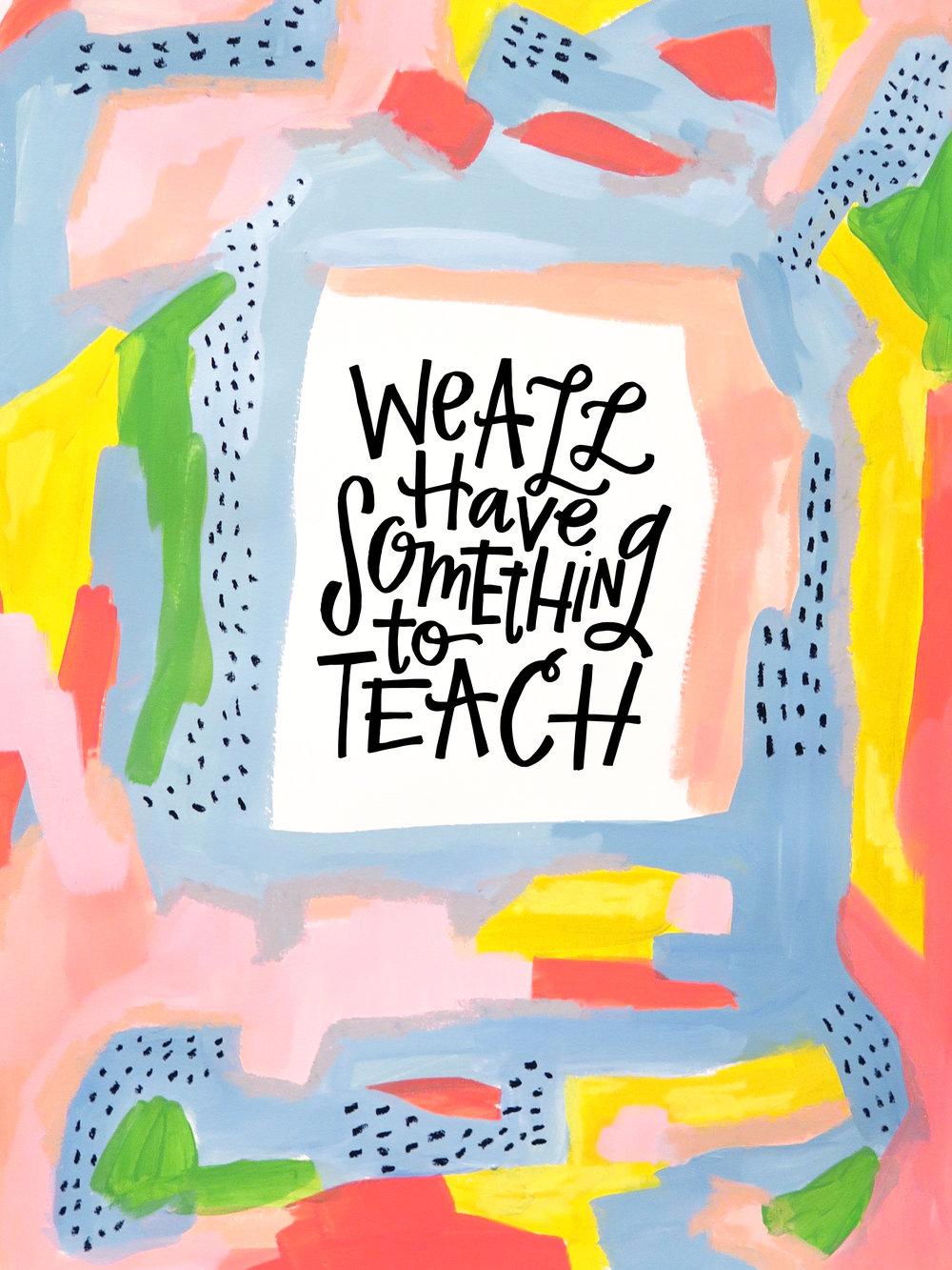 4/24/16: Teach