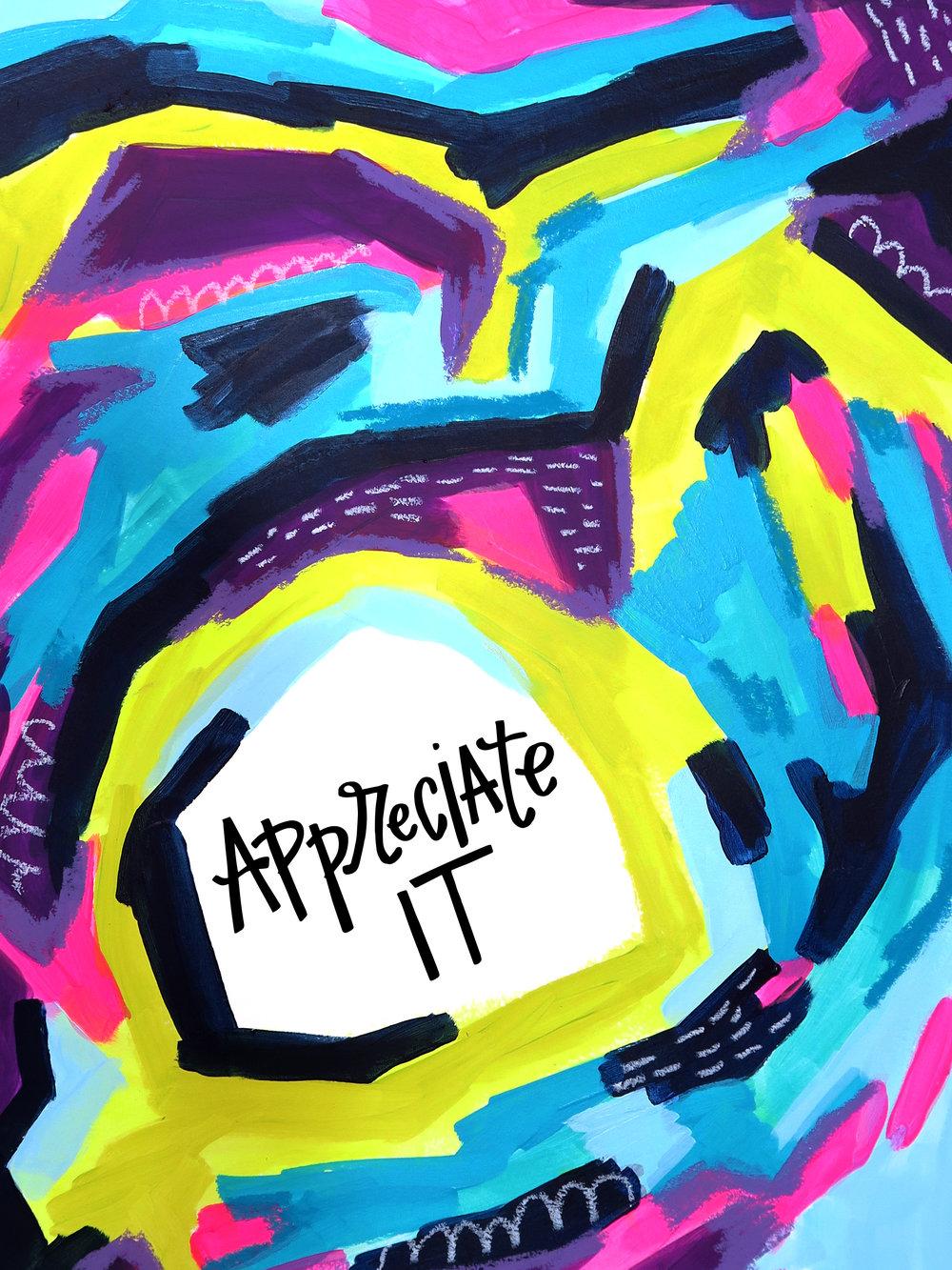 4/23/16: Appreciate