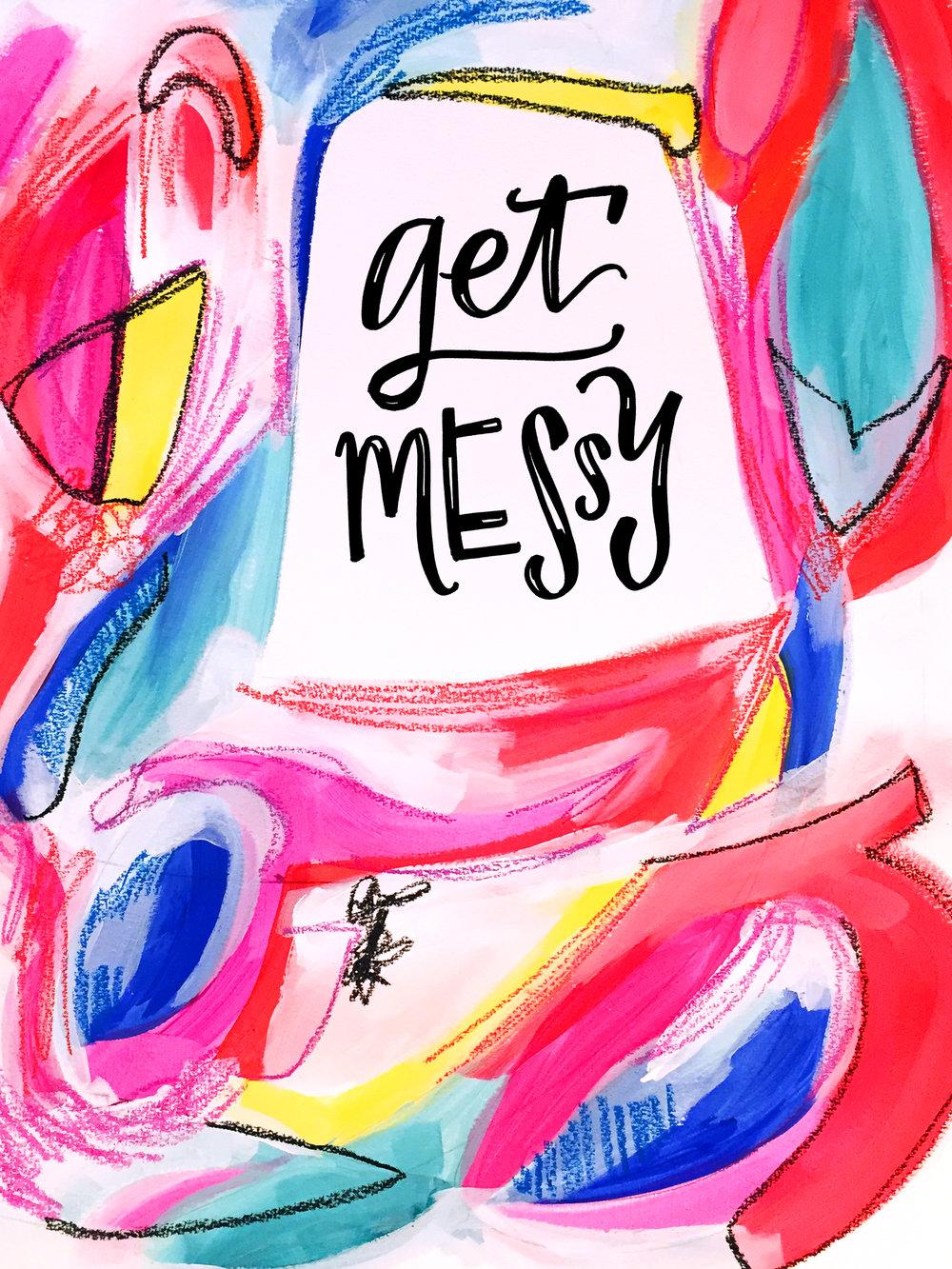 1/30/16: Messy