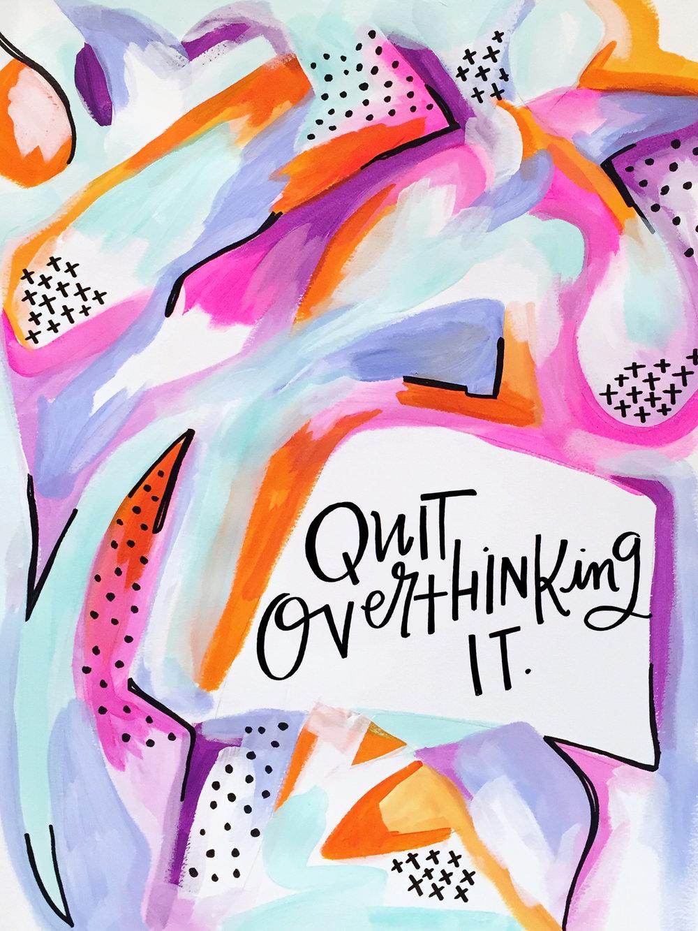 1/27/16: Overthink