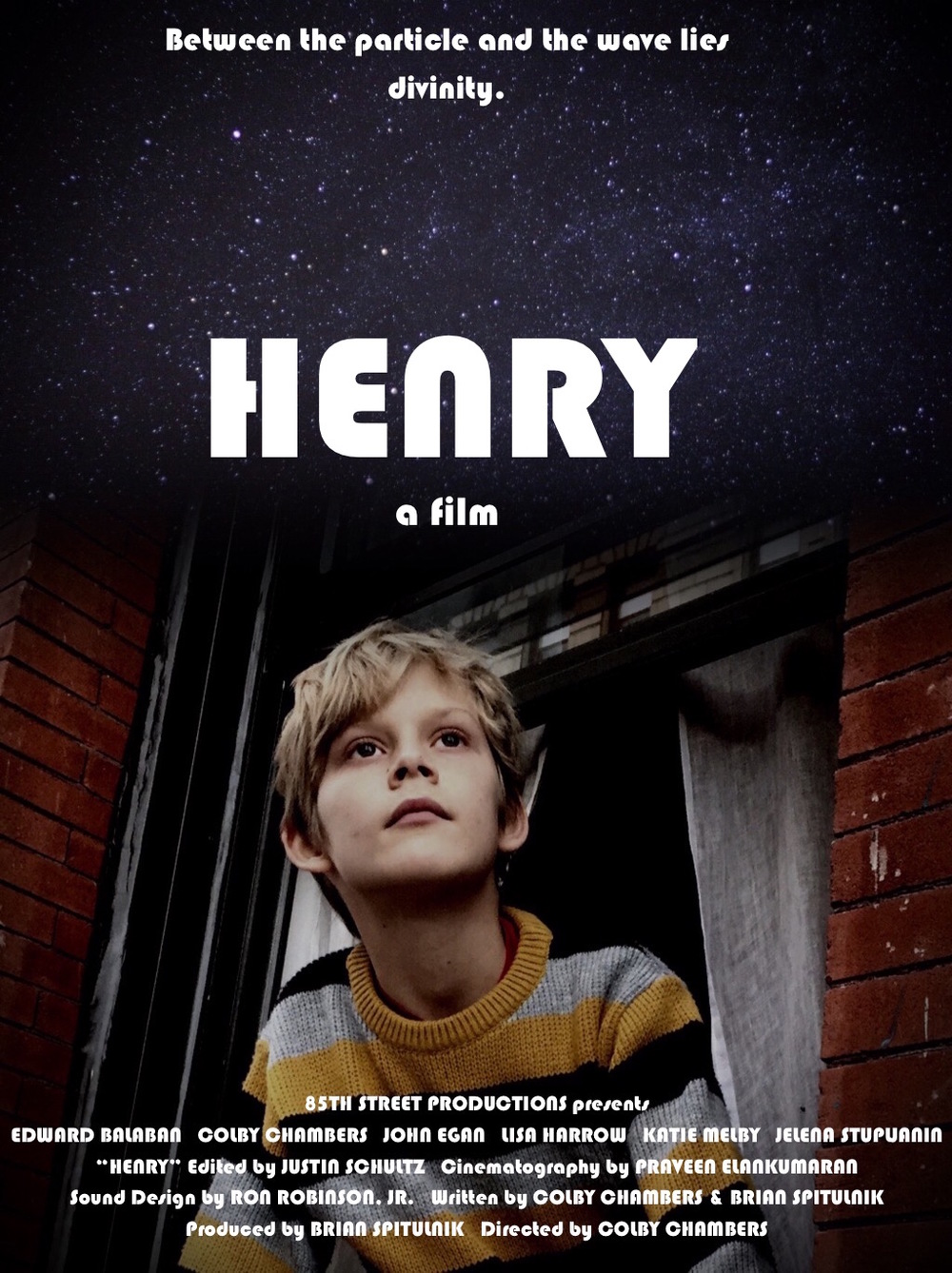 85th Street Productions presents HENRY directed by Colby Lane Chambers