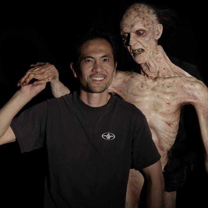 Dir. of GEHENNA: WHERE DEATH LIVES, Hiroshi Katagiri one of the guests at the masterclass