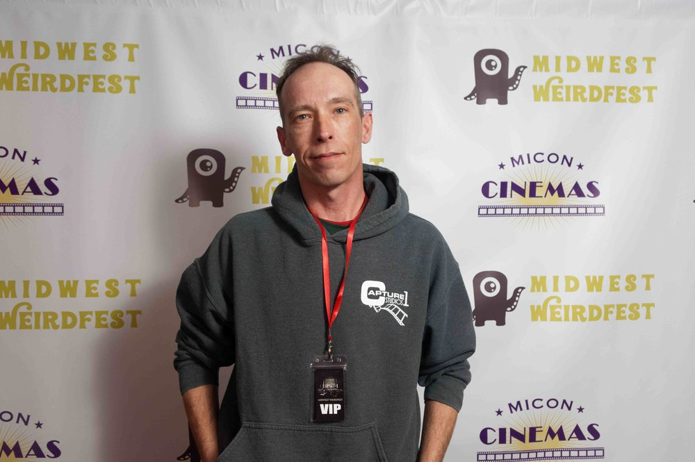 Matt Erman writer, producer and cinematographer  of MENTAL STATE: REVELATION ( Photo by Luong Huynh)