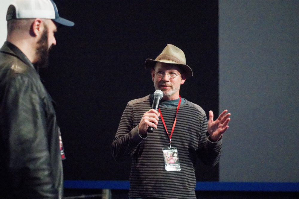 Ted Michaels introducing his award winning film TANGOBORN MENCLENTY at MidWest WeirdFest 2019.