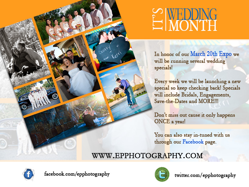 Wedding photography discount flyer