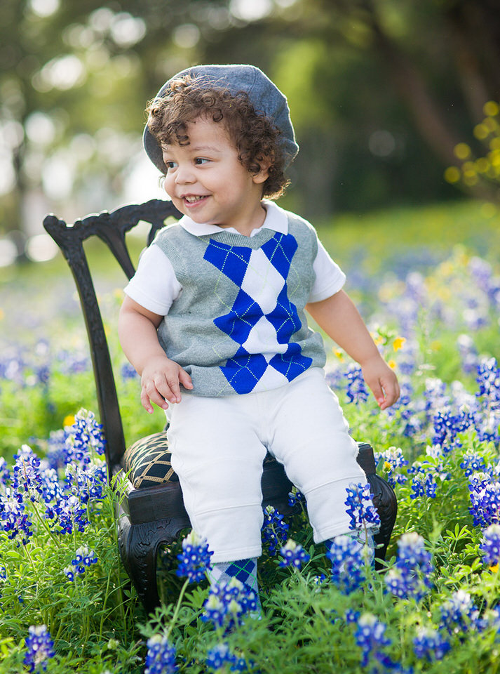 Ari in Bluebonnets- EP Photography