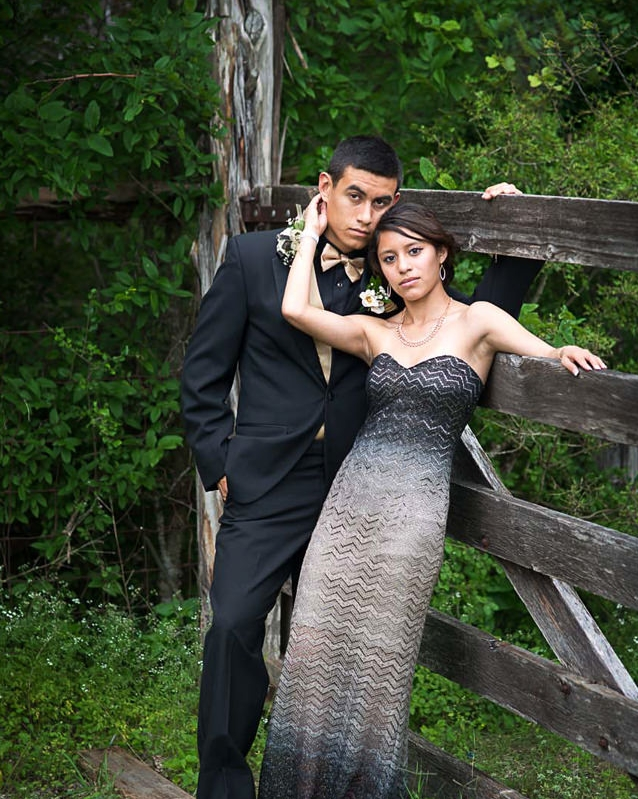 illustrative prom portrait- EP Photography