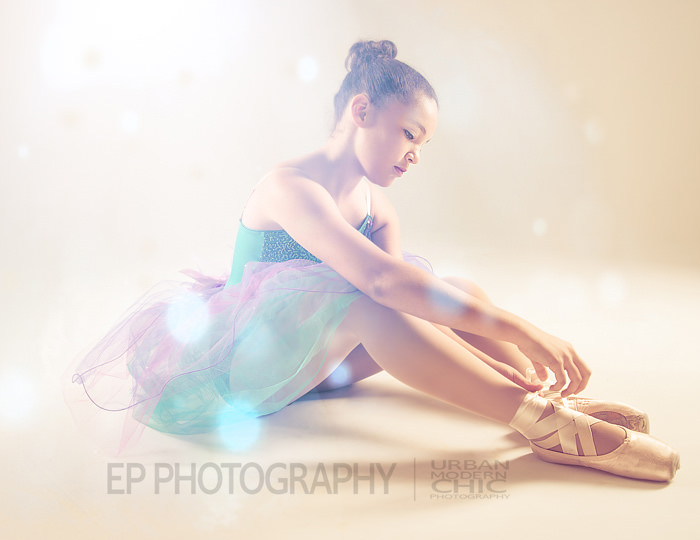 Ballerina Studio Portrait - EP Photography