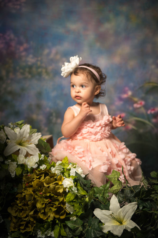 easter flower girl- EP Photography