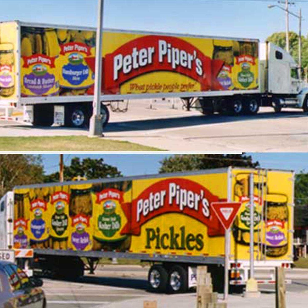 53' Semi Trailer Graphics