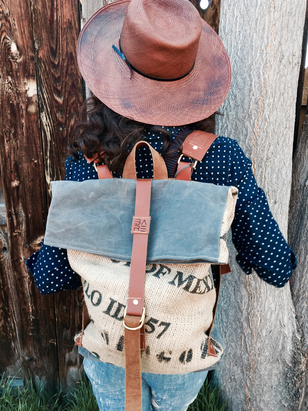 Fold over pack; $150 straw hat; $52