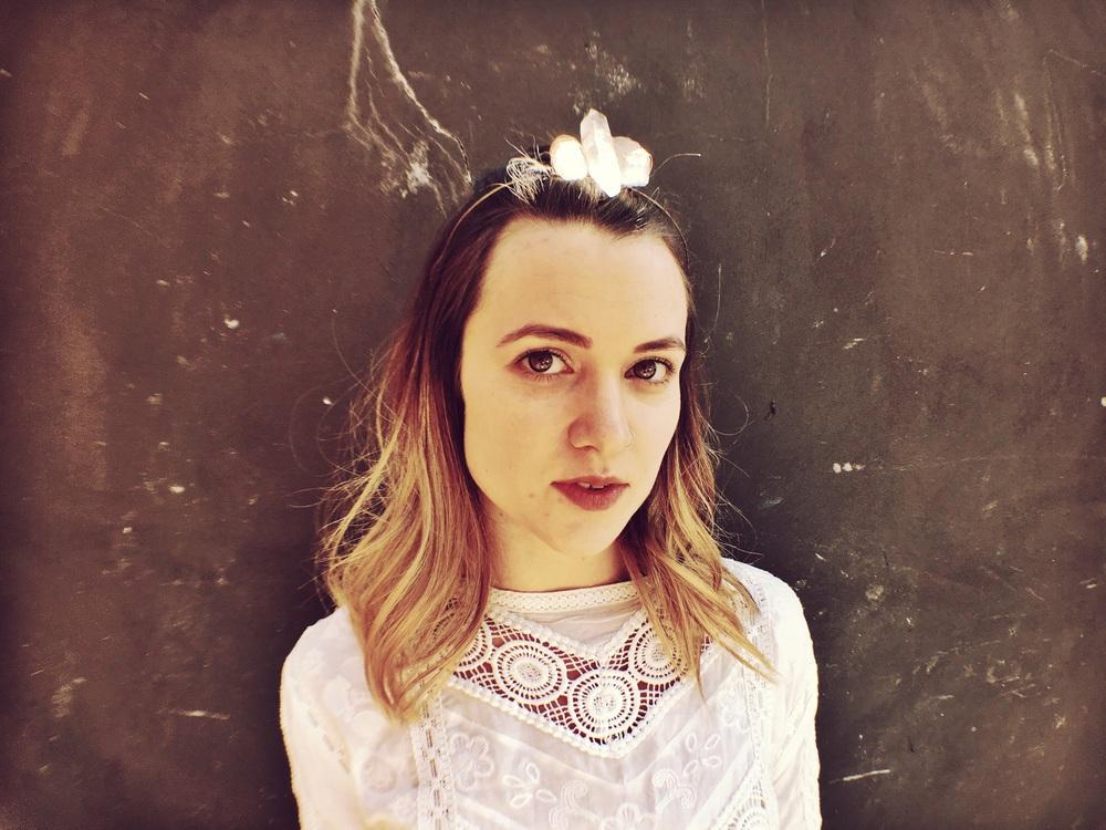 Crystal Crown @theparlourunplugged @annaembryyy #hairbyannaembryyy