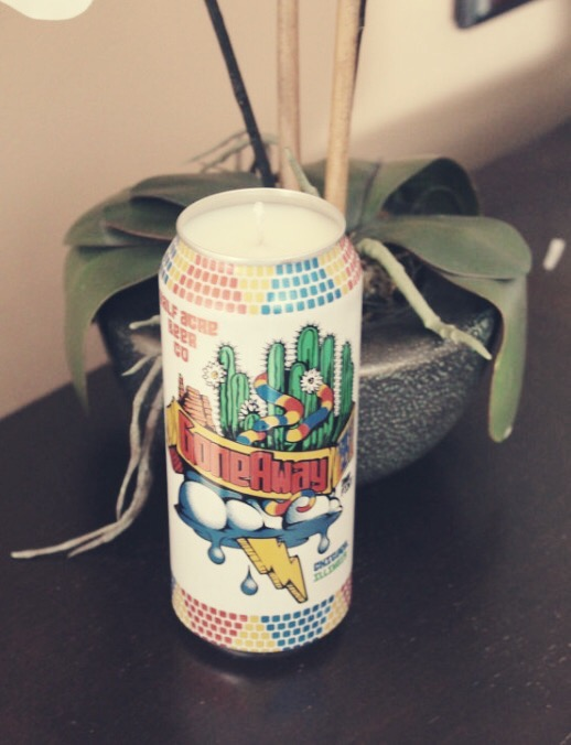Upcycled beer cans;   Etsy (JenniesJawns)