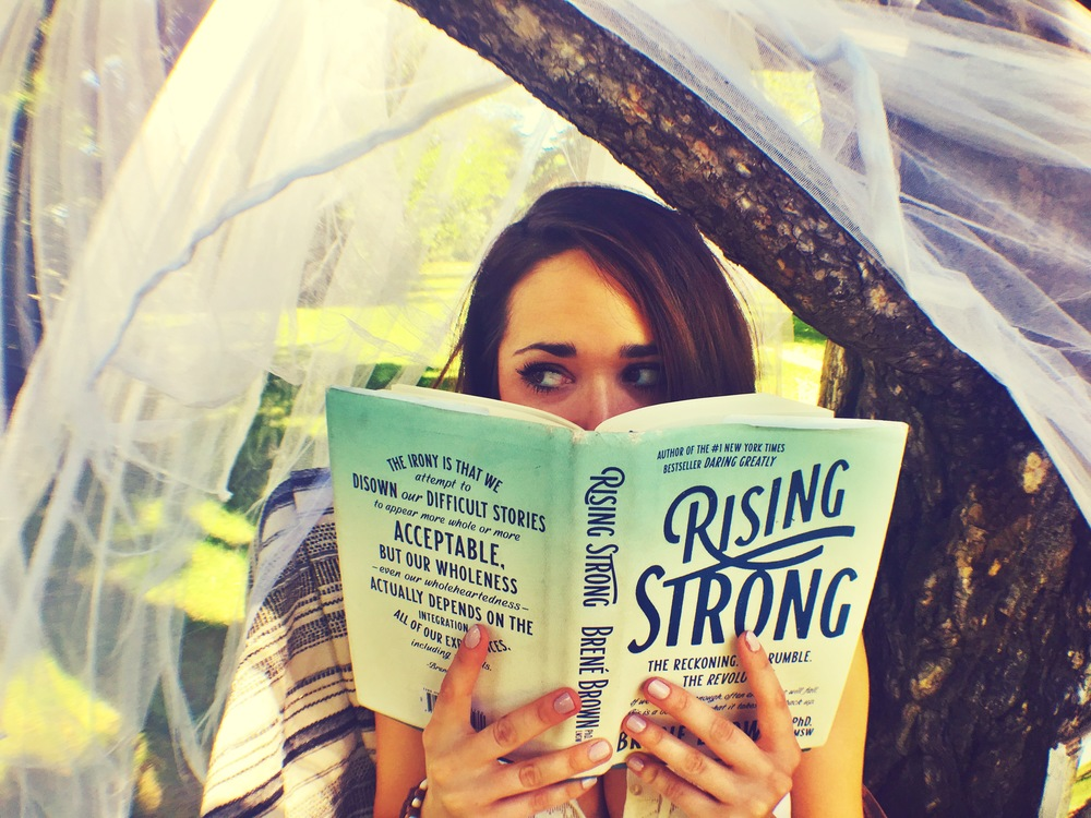 Rising Strong  by  Brene Brown , click the picture to get your own copy!