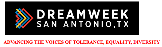 """This programming event has been cancelled due to Winter Storm Warning. Our normal programming will continue next week. Stay safe! DreamWeek is a summit of events that fosters the exchange of ideas on universal issues in order to advance the voices of tolerance, equality, and diversity. The January, city-wide summit takes place in and around downtown San Antonio. The aim is to invite all to participate in an open forum where real-world issues are discussed in a well-balanced manner, with the understanding that the truest voices will always prevail. Summit events includes symposiums, film screenings, concerts, art gallery exhibits, panel discussions, health and fitness expos, mixers, and debates. Fiesta Youth is excited to partner with DreamWeek and dedicate a night of programming to the mission. Our night of programming will be on January 16, 2018, and our title is """"Diversity in Action!"""" Please see below for information on our event! For a list of other DreamWeek events please visit their website at www.dreamweek.org."""