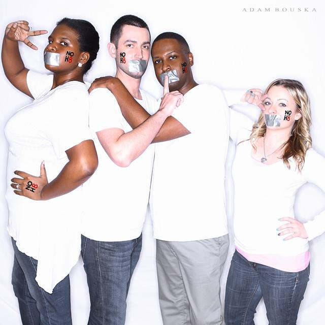 NOH8 Campaign Photo Shoot