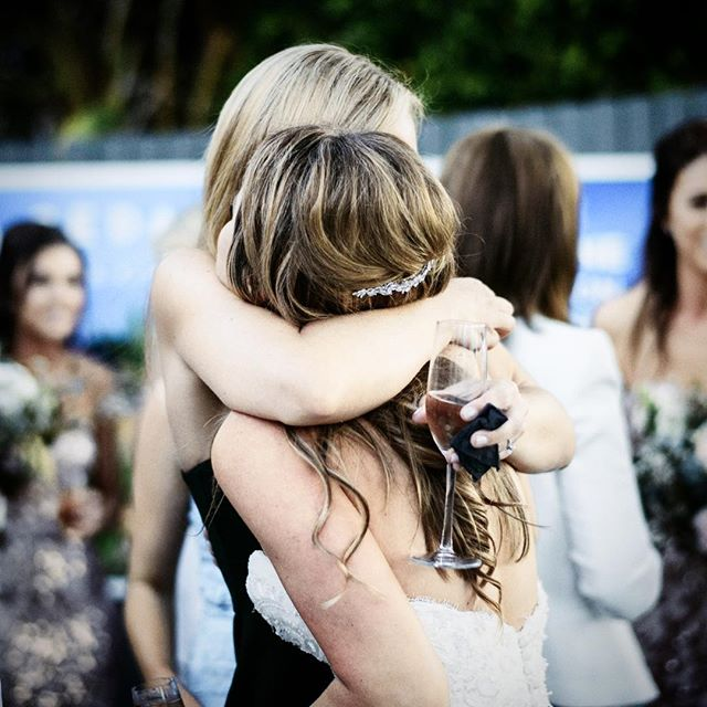 ✨When one of your best friends gets married... ✨ . . . #wedding #weddingreception #celebrate #marriage #hugs