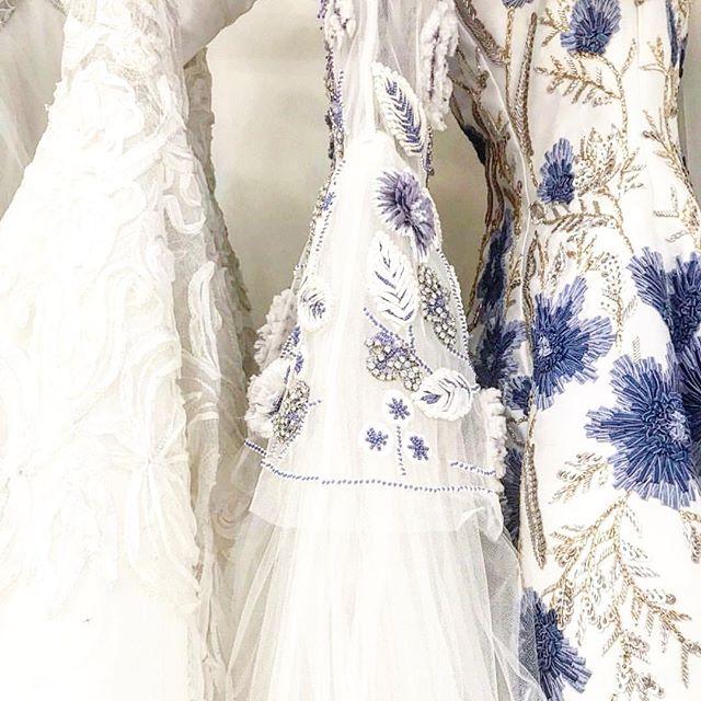 Something blue ✨  #naeemkhanbridal #weddingdress #somethingblue #wedding #embroidery