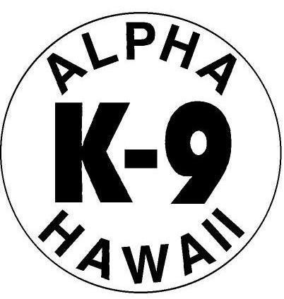Alpha K-9 Hawaii Obedience Training