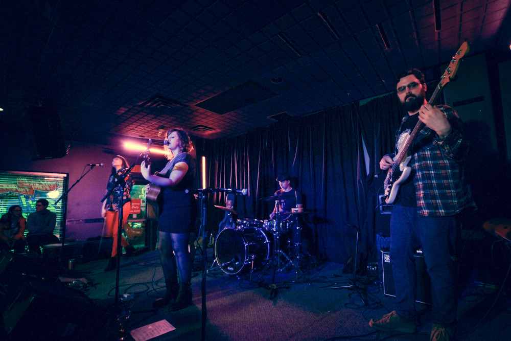 Strange Fingerprints EP Release at Vangelis, April 2014