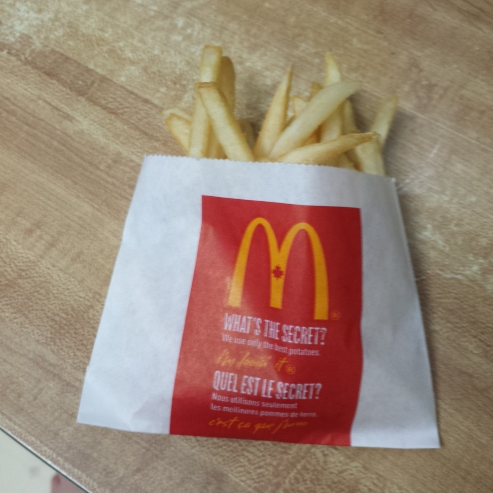 Post show McDonalds.