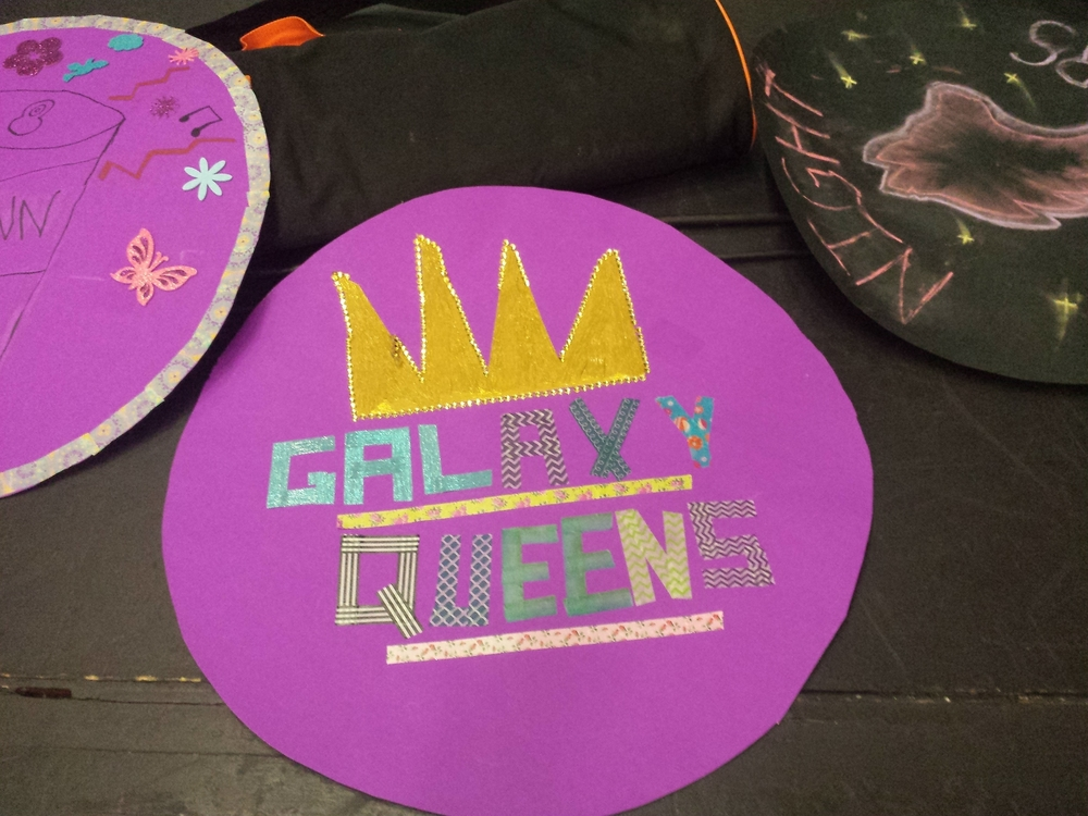 GRC drum skins! I got to work with the Galaxy Queens.
