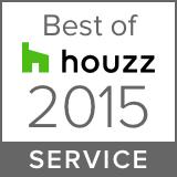 Houzz Best Service Winner 2015